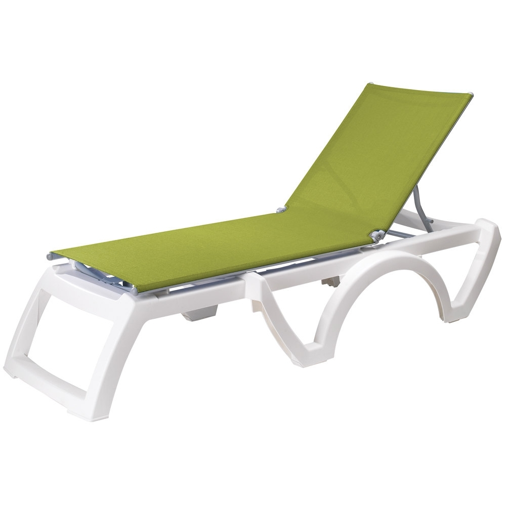 Colorful Outdoor Chaise Lounge Chairs • Lounge Chairs Ideas With Most Popular Hotel Pool Chaise Lounge Chairs (View 1 of 15)