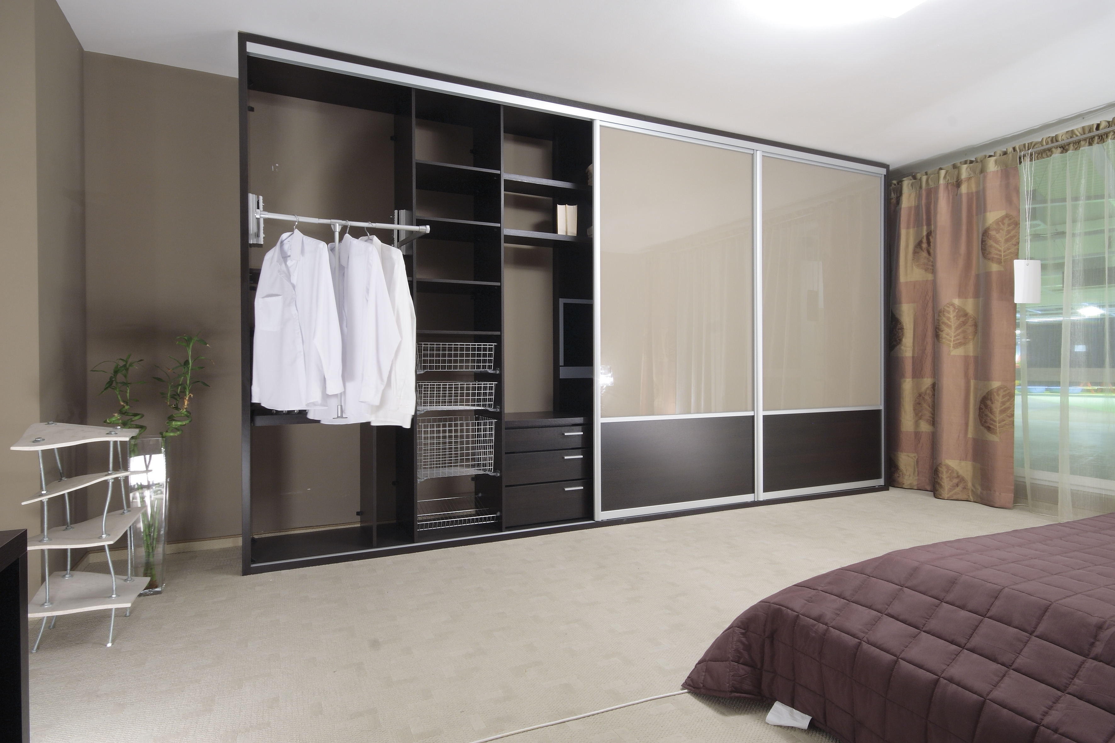 Coloured Wardrobes With Regard To Trendy Interiors – Sliding Wardrobessliding Wardrobes (View 5 of 15)