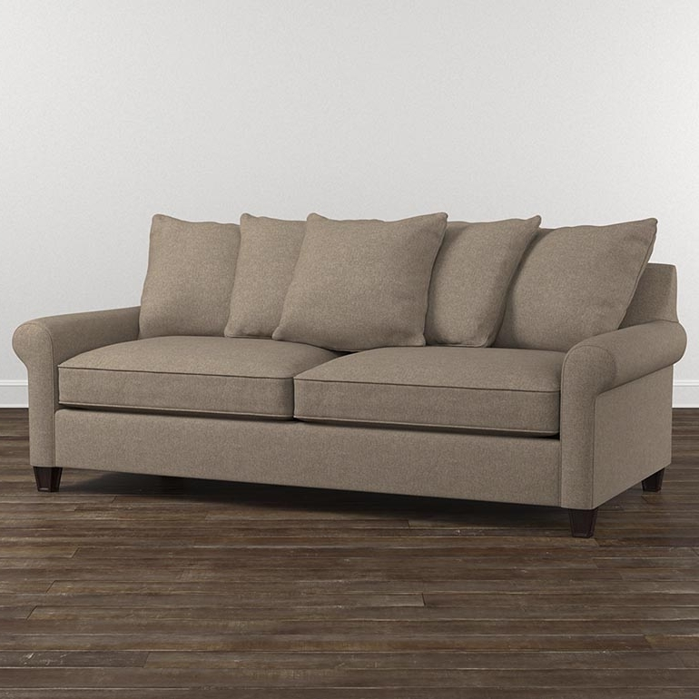 Comfortable Sofas And Chairs With Regard To Famous Fabric Sofas And Couchesbassett Home Furnishings (View 5 of 10)