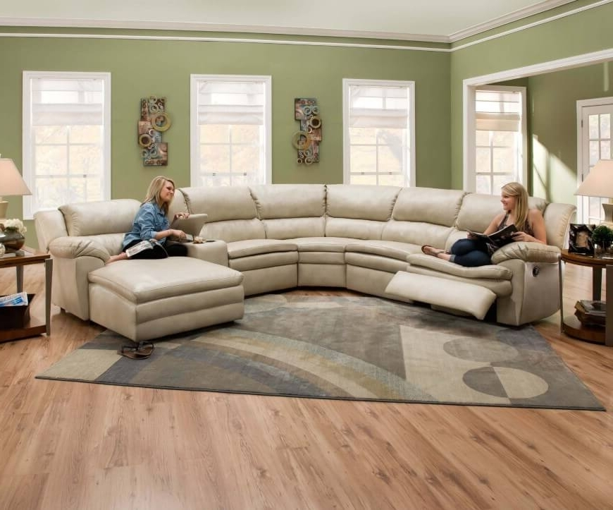 Contemporary Curved And Round Sectional Sofas Intended For Popular Round Sectional Sofas (View 4 of 10)