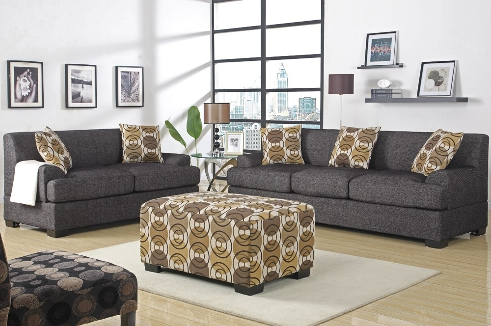 Featured Photo of Contemporary Fabric Sofas