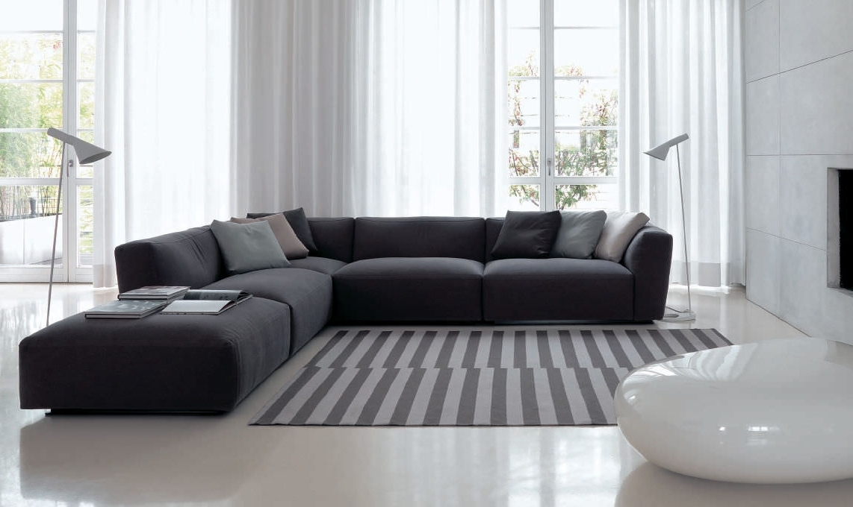 Contemporary Modular Sofas Corner Sofa Modular Contemporary Fabric For Current Modular Corner Sofas (View 2 of 10)