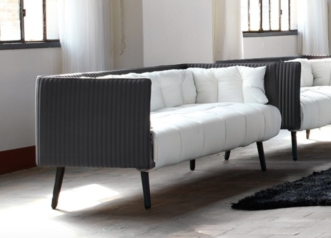 Contemporary Sofa With Most Current Contemporary Sofa Chairs (View 10 of 10)