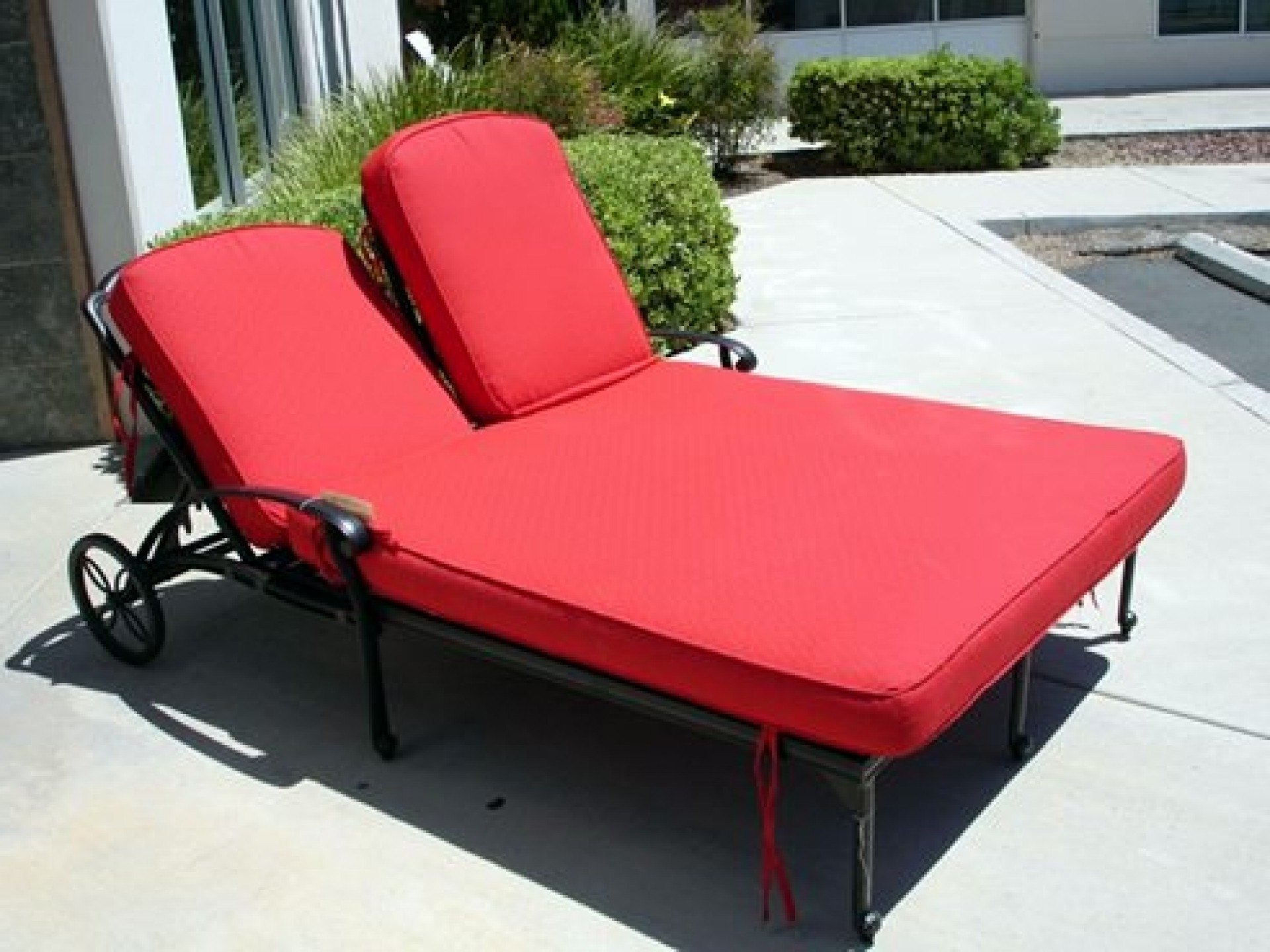 Convertible Chair : For Outside Furniture Chaise Lounge Chair Pads For Widely Used Black Outdoor Chaise Lounge Chairs (View 5 of 15)
