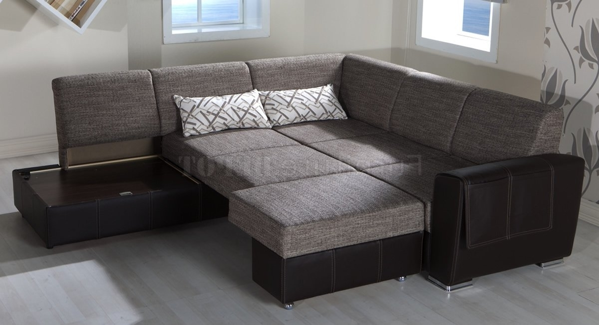 Convertible Sectional Sofas Intended For Best And Newest Sectional Sofa  Design: Adorable Convertible Sectional Sofa