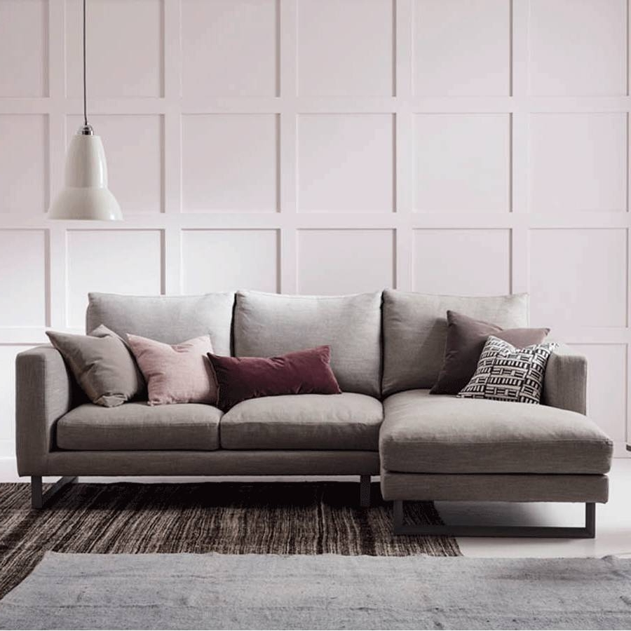 Corner Chaises With Most Popular Chaise Longue Fabric Loveseats With Left Or Right Hand Arm (View 6 of 15)