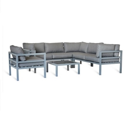Corner Sofa Chairs Within Trendy West Strand Corner Sofa Furniture Setgarden Trading (View 5 of 10)