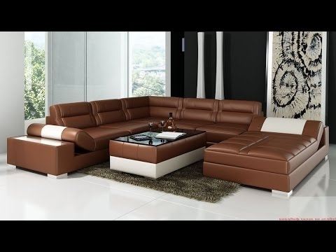 Corner Sofas Leather – Youtube (View 3 of 10)