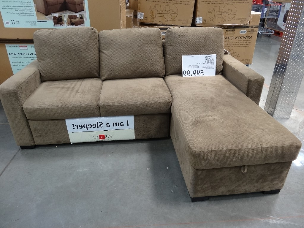 Costco Sleeper Sofa With Chaise – Ansugallery Pertaining To Famous Chaise Sofa Sleepers (View 7 of 15)