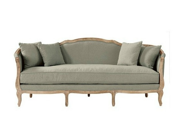 Country French Style Sofa – Hymns And Verses Inside Widely Used French Style Sofas (View 3 of 10)