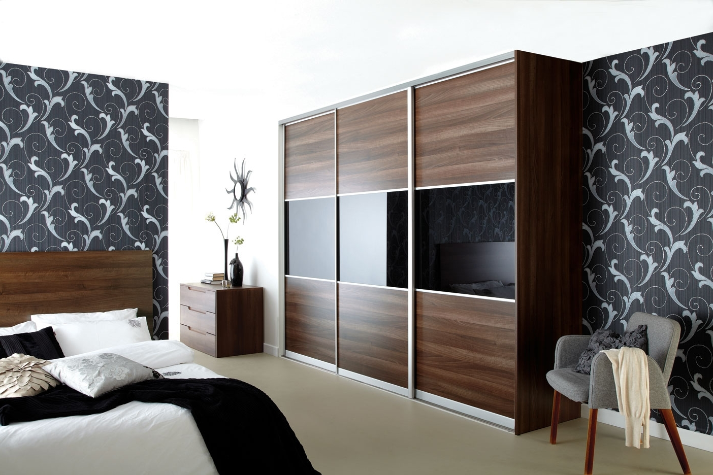 Coventry Sliding Wardrobes Intended For Walnut Wardrobes (View 2 of 15)