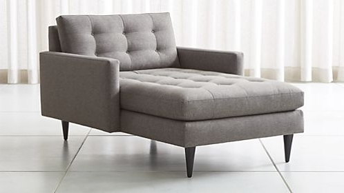 Crate And Barrel Inside Lounge Sofas And Chairs (View 4 of 10)
