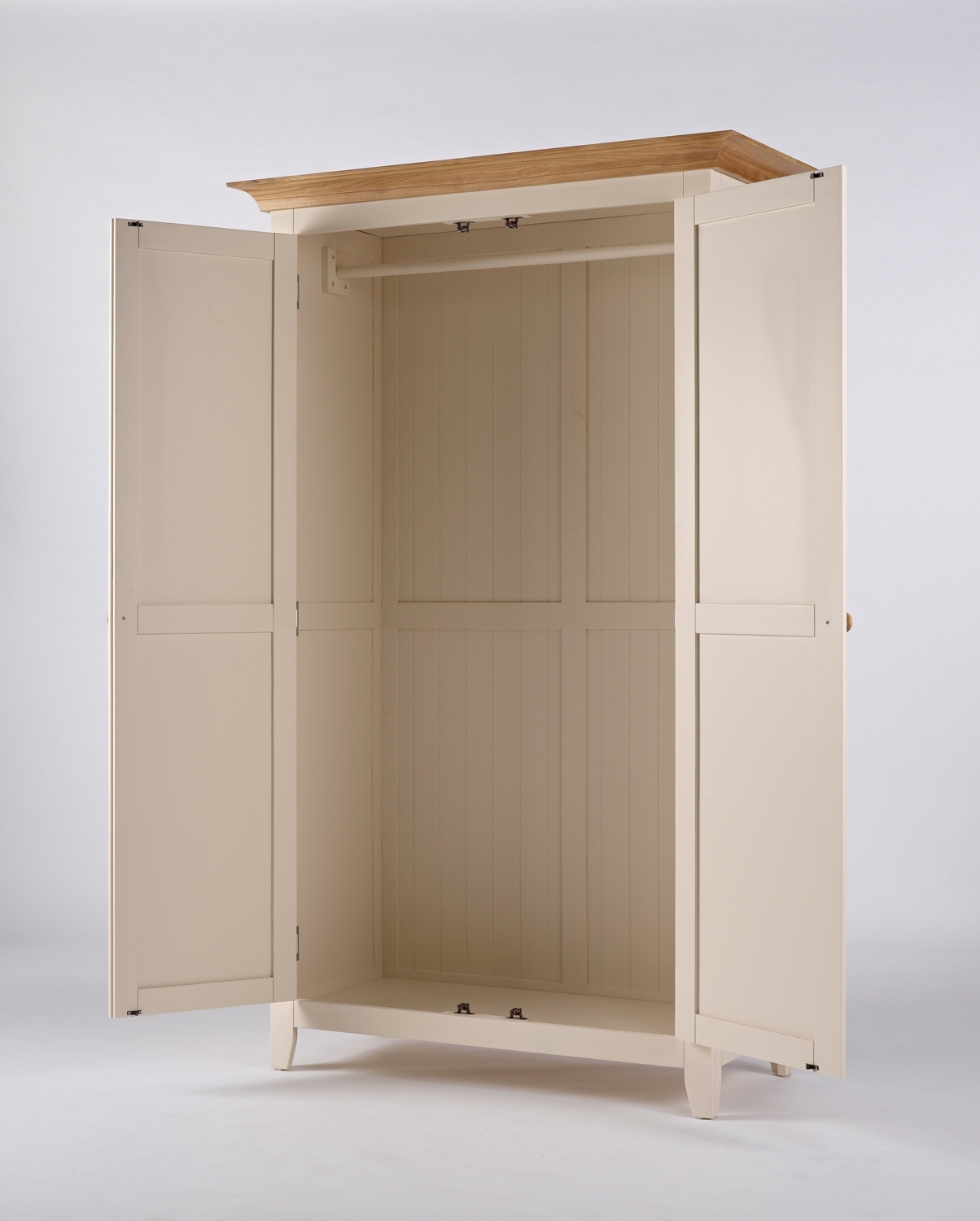 Cream Double Wardrobe – Camden With 2018 Camden Wardrobes (View 4 of 15)