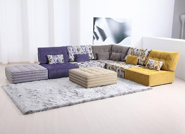 Cuddle Into This 20 Comfortable Floor Level Sofas (View 2 of 10)