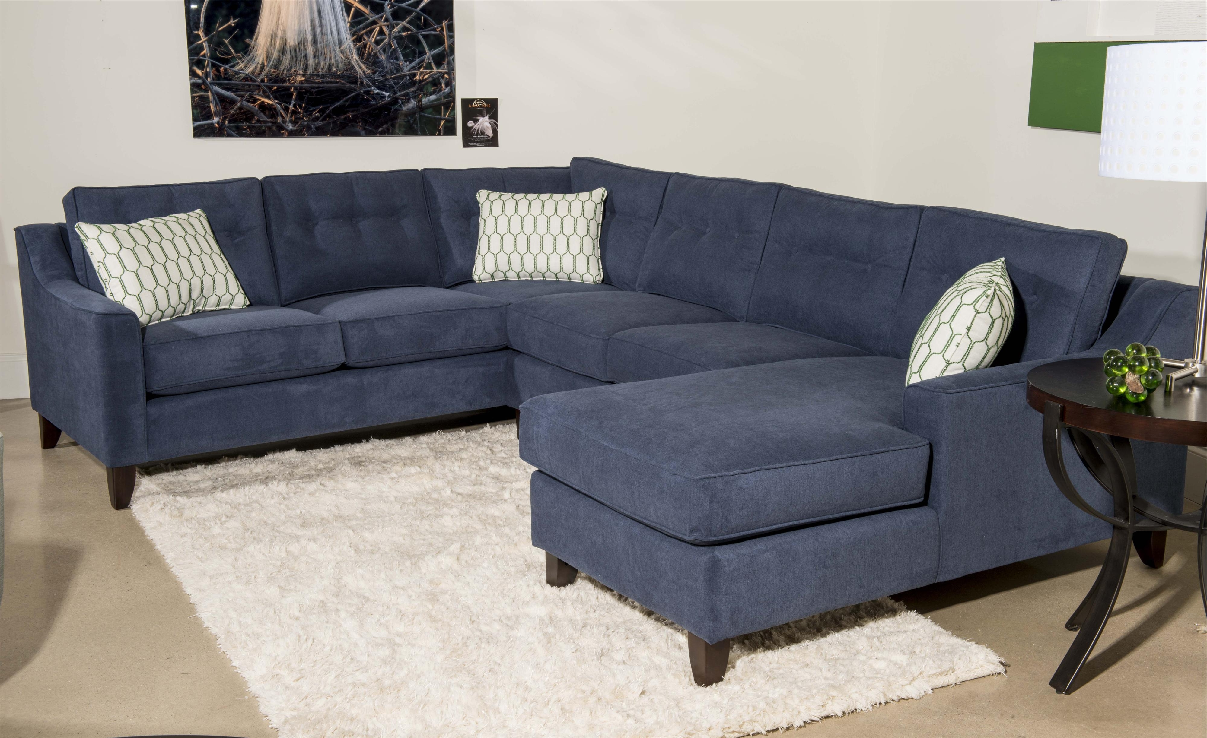 Current 3 Piece Sectional Sofas With Chaise Throughout Contemporary 3 Piece Sectional Sofa With Chaiseklaussner (View 6 of 15)