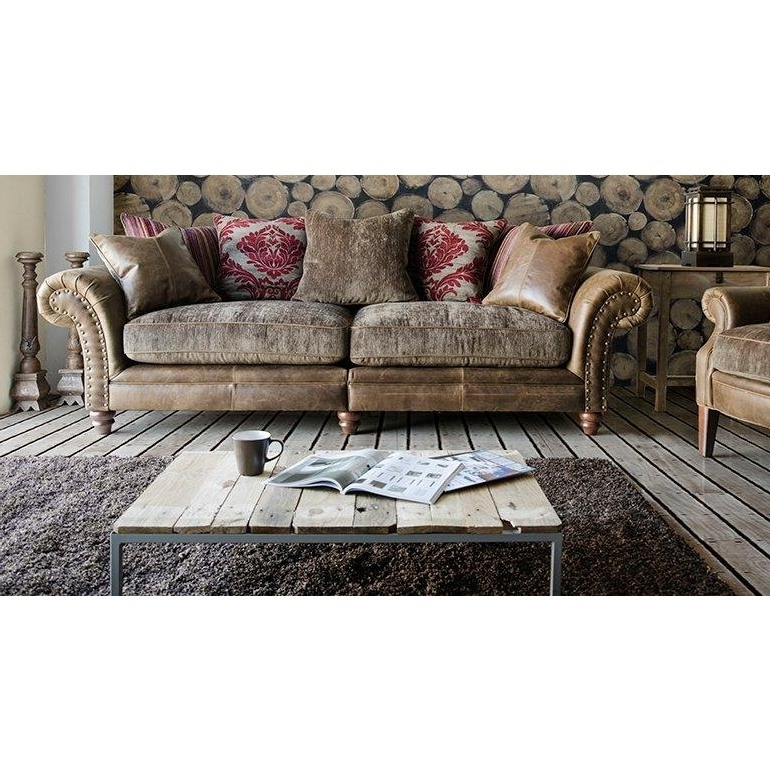 Current Alexander & James Hudson 4 Seater Sofa Option 1 – The Place For Homes Intended For 4 Seater Sofas (View 5 of 15)