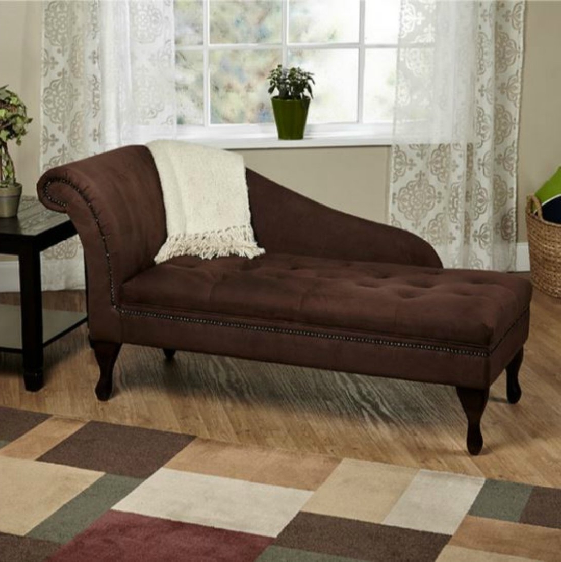 Current Amazon: Modern Storage Chaise Lounge Chair – This Tufted Throughout Tufted Chaise Lounge Chairs (View 6 of 15)