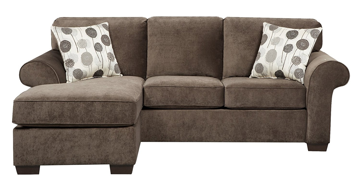 Current Amazon: Roundhill Furniture Fabric Sectional Sofa With 2 With Reversible Chaise Sofas (View 4 of 15)