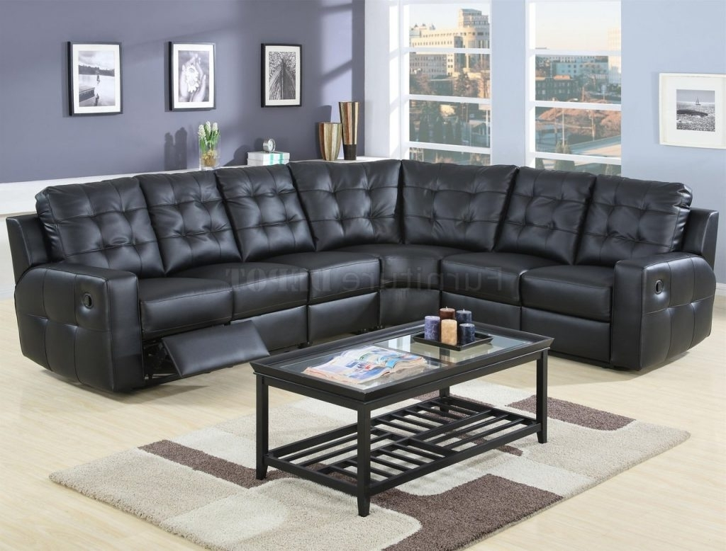 Current Black Leather Sectionals With Chaise Throughout Sofa ~ Luxury Black Leather Sectional Sofa Black Leather Sectional (View 8 of 15)