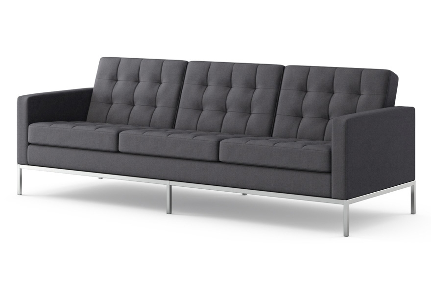 Current Florence Knoll Wood Legs Sofas Regarding Iconic Midcentury Modern Designers – Florence Knoll – Midcentury (View 2 of 10)