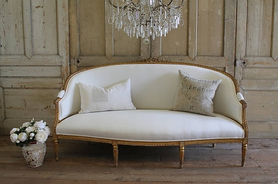 Current French Style Sofas Throughout Country French Style Sofa – Hymns And Verses (View 4 of 10)