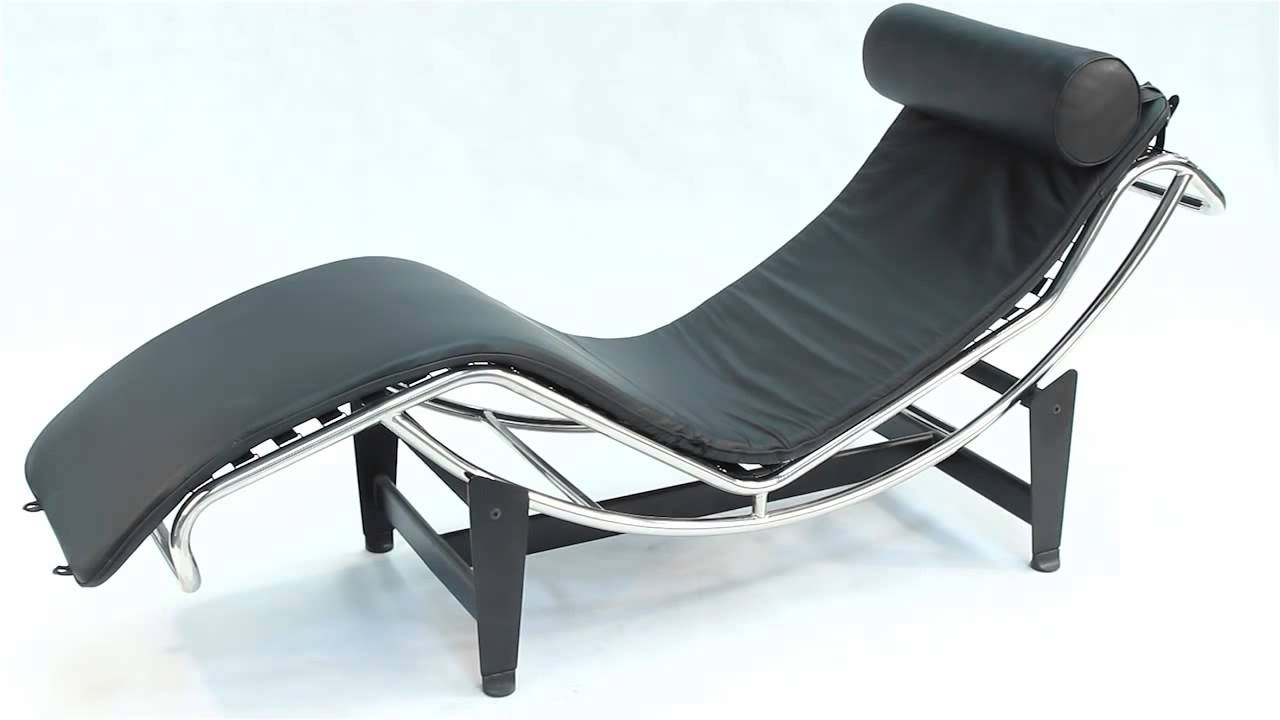 Current Le Corbusier Chaises Intended For Replica Le Corbusier Chaise Longue Lc4 – Youtube (View 5 of 15)