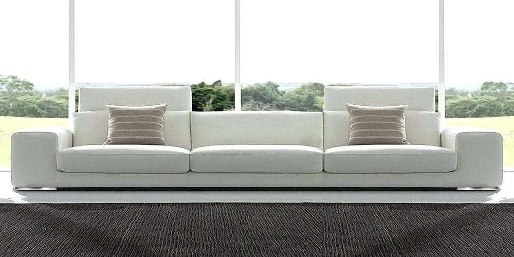 Current Marvellous 4 Seater Leather Sofa Design – Gradfly (View 6 of 15)