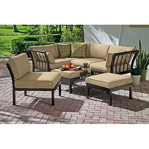 Current Outdoor Sofa Chairs Intended For Best Choice Products 7Pc Outdoor Patio Garden Wicker Furniture (View 2 of 10)