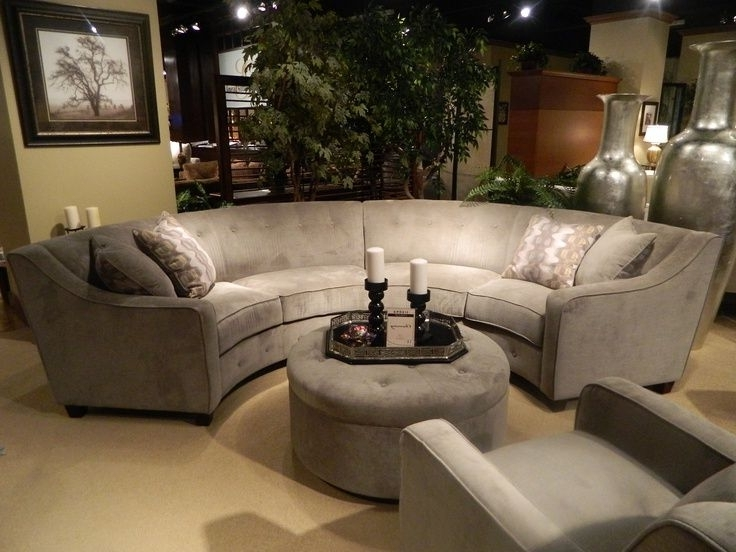 Current Sectional Sofa Design Semi Circular Couches Round Regarding Couch With Regard To Semicircular Sofas (View 2 of 10)