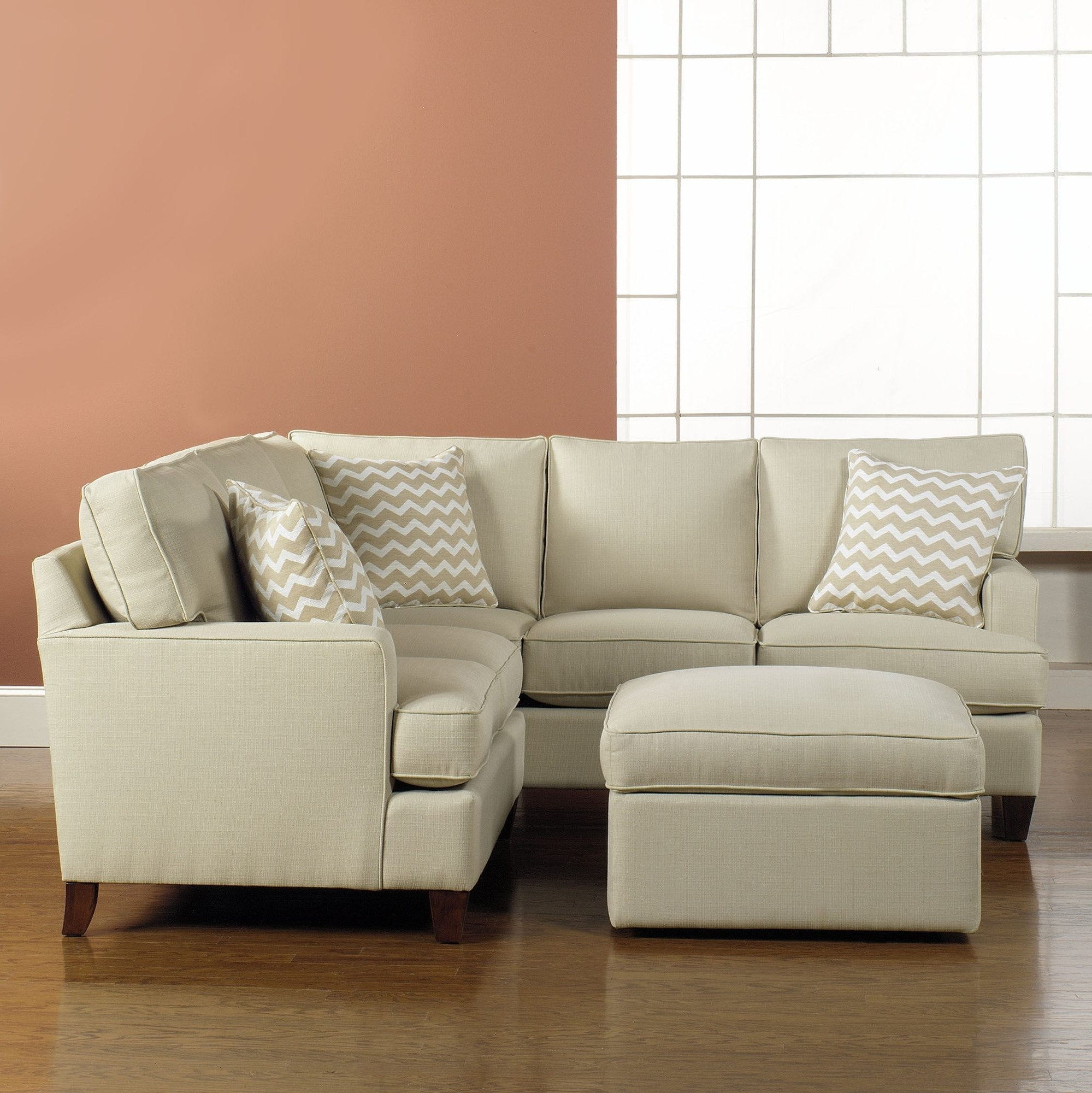 Current Small Sectionals With Chaise Regarding Apartment Sized Furniture Living Room Small Sectional Sofa Cheap (View 5 of 15)