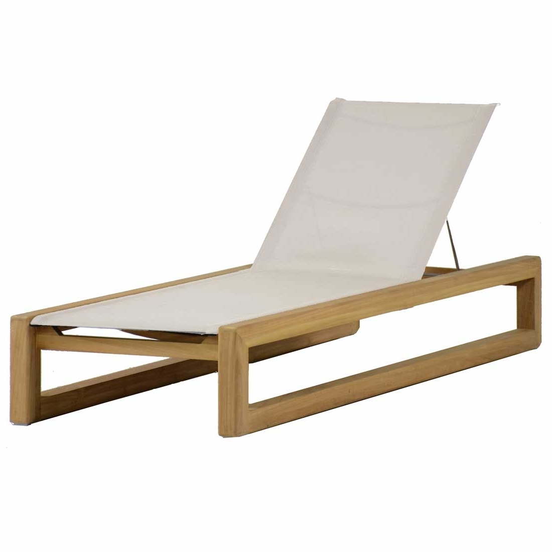 Current Teak Chaise Lounges Throughout Bali Teak Chaise Lounge – Summer Classics (View 9 of 15)