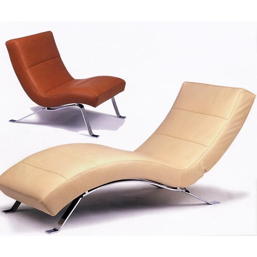 Curved Chaise Lounges For Most Current Outstanding Curved Chaise Lounge Chair Pictures Decoration Ideas (View 6 of 15)