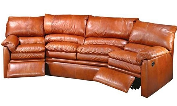 Curved Recliner Sofas Inside Trendy Bellagio Motion Sofa & Curved Sofa – Creative Leather (View 7 of 10)