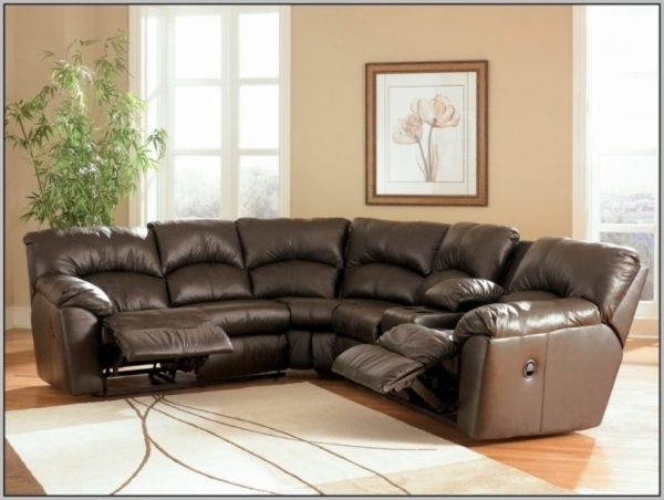 Curved Sectional Sofa Recliner (View 3 of 10)