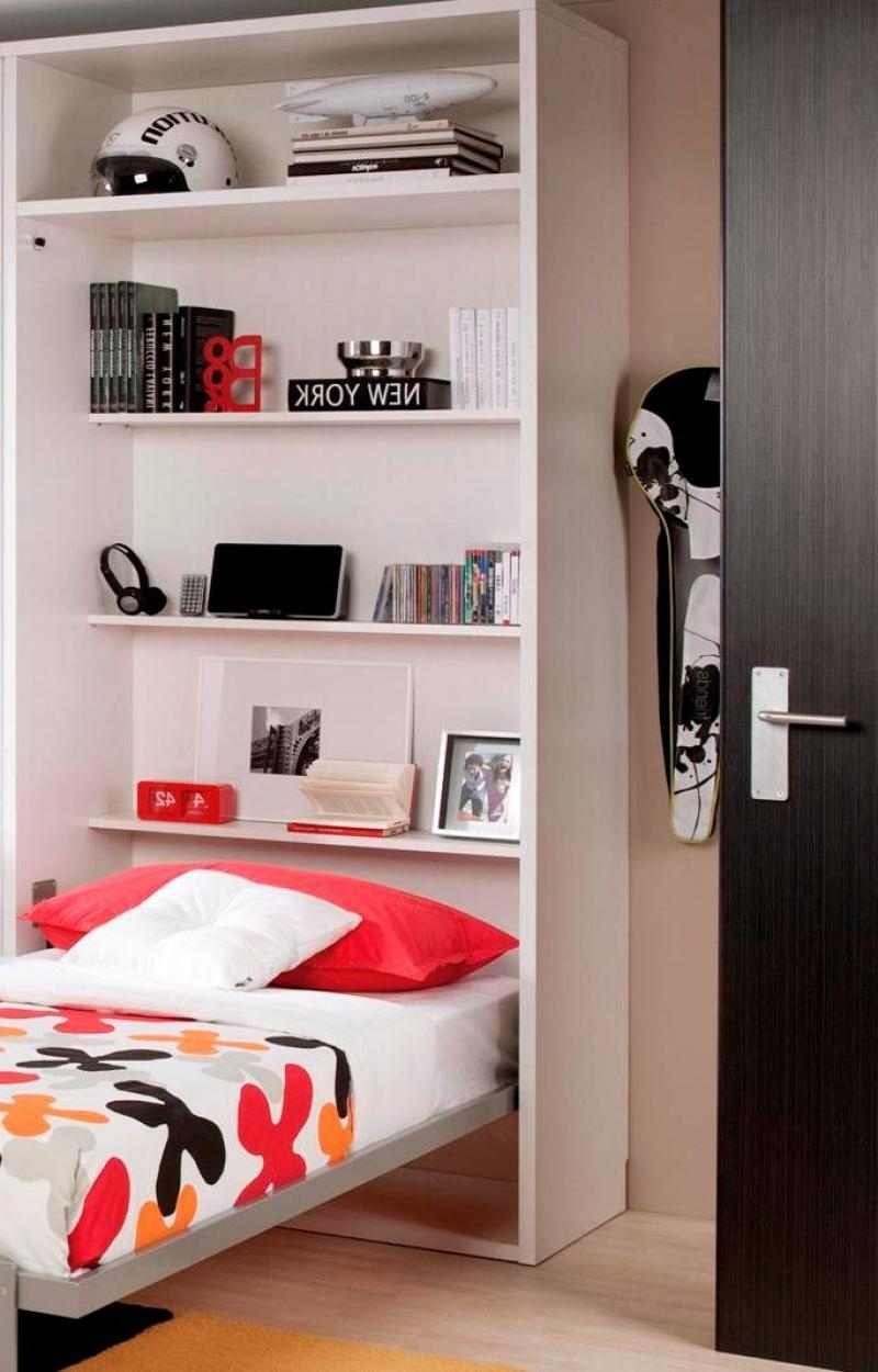 Featured Photo of Bed And Wardrobes Combination