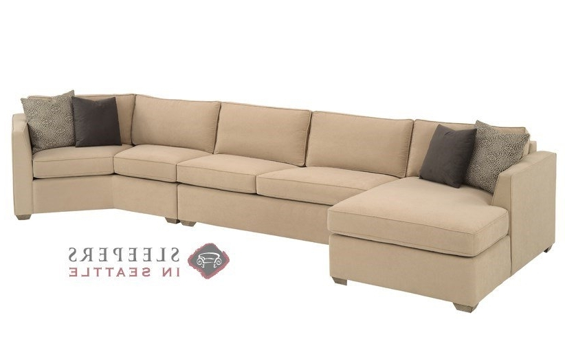 Customize And Personalize Strata Chaise Sectional Fabric Sofa Pertaining To Most Recent Long Sectional Sofas With Chaise (View 5 of 10)