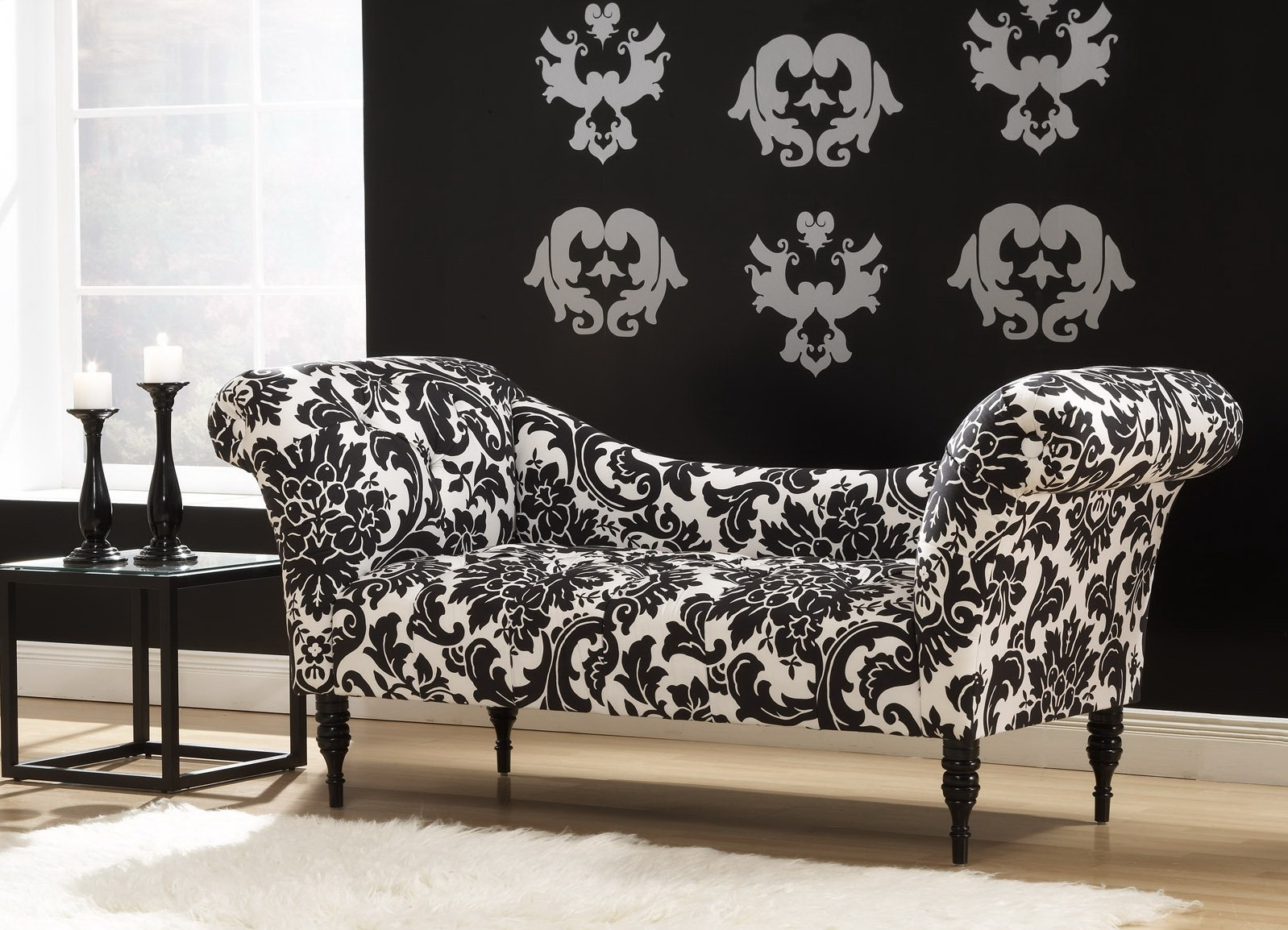 Featured Photo of Damask Chaise Lounge Chairs