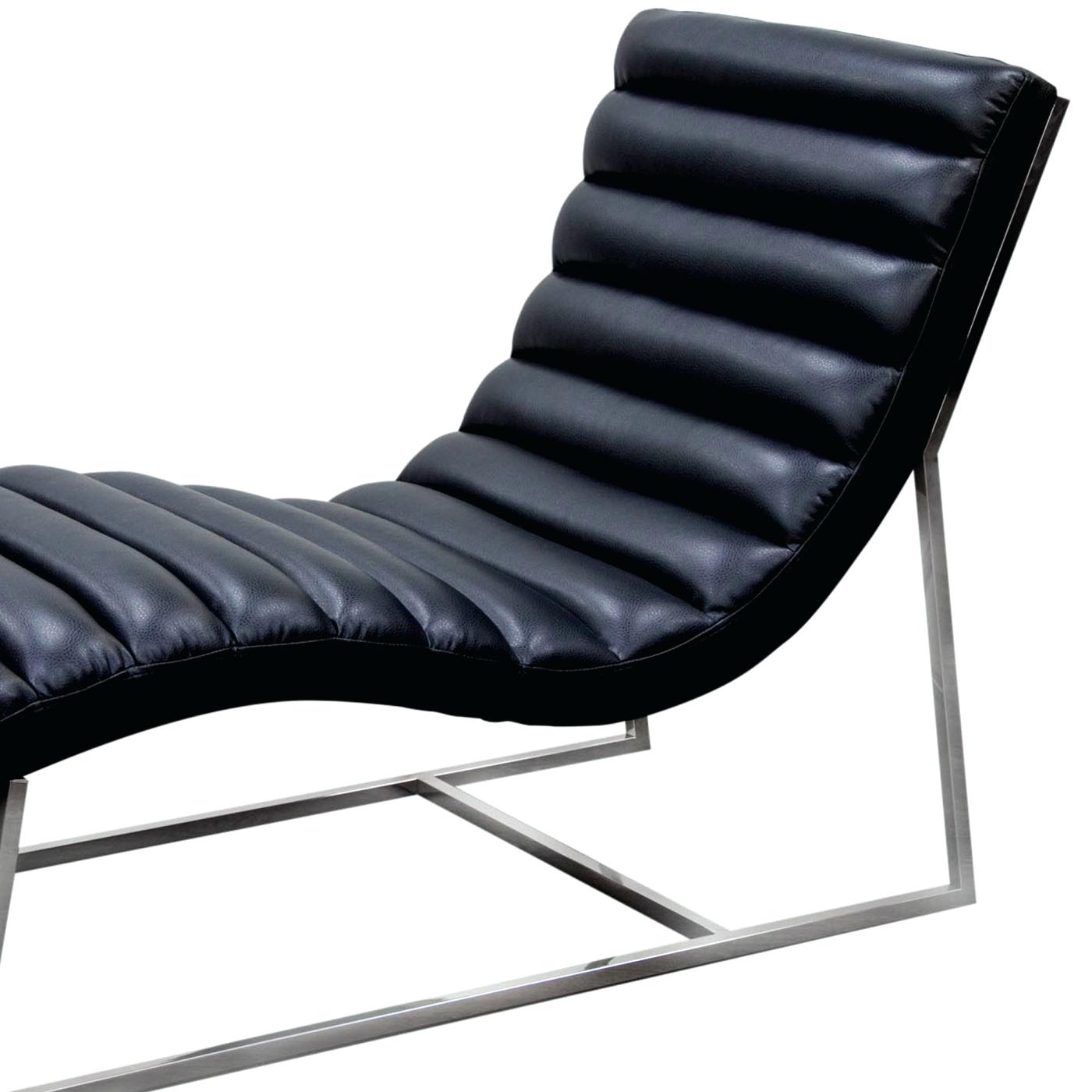 Damask Chaise Lounge Chairs Inside Well Known Black Chaise Iron Lounge Chairs Sofa Outdoor – Nikeaf (View 12 of 15)