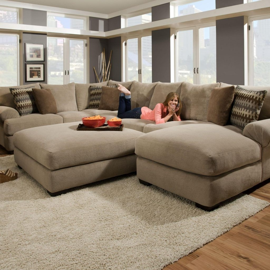 Deep Sectional Sofas With Chaise For Most Popular Most Comfortable Sectional Sofa With Chaise (View 4 of 15)