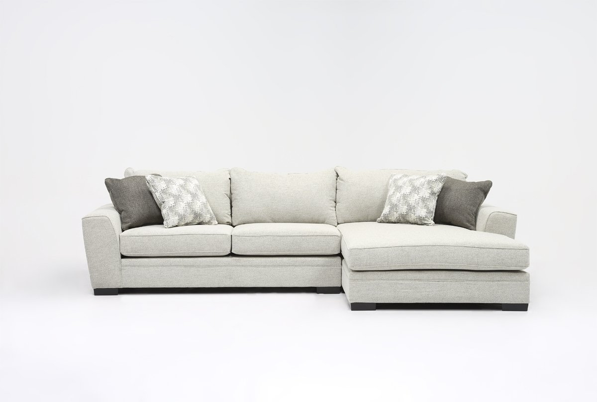 Delano 2 Piece Sectional W/laf Oversized Chaise (View 11 of 15)