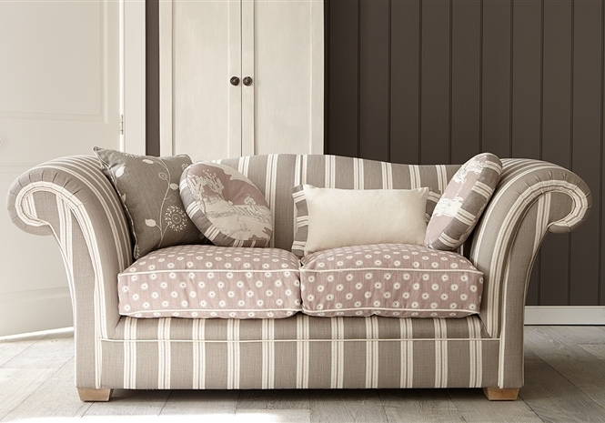 Designer Classic Sofas Made With Luxury Fabrics, Rustic Country Intended For Recent Classic Sofas (View 4 of 10)