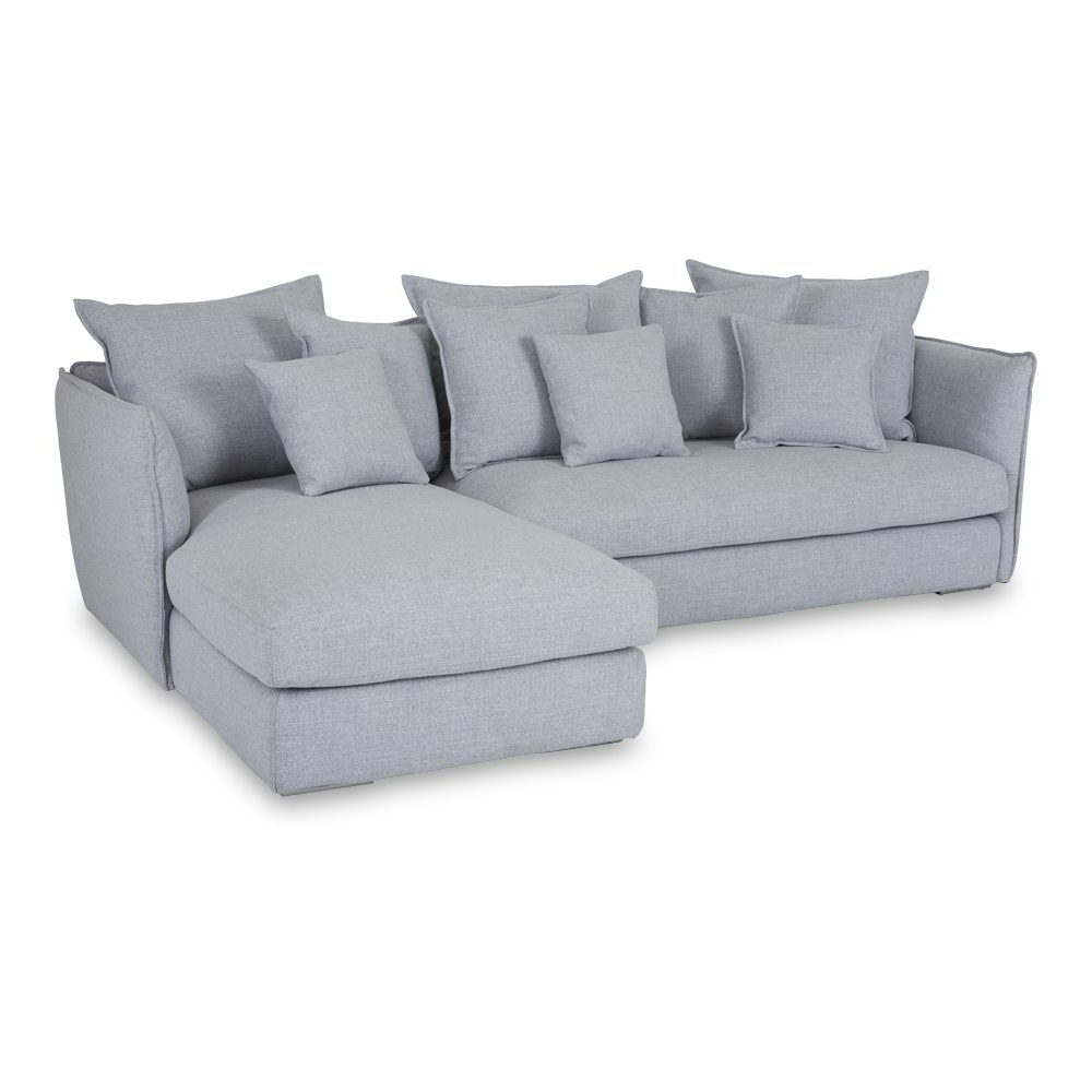 Designer Lisa Grey Chaise Lounge – Sectional Sofa Within Most Current Chaise Lounge Sofas (View 6 of 15)