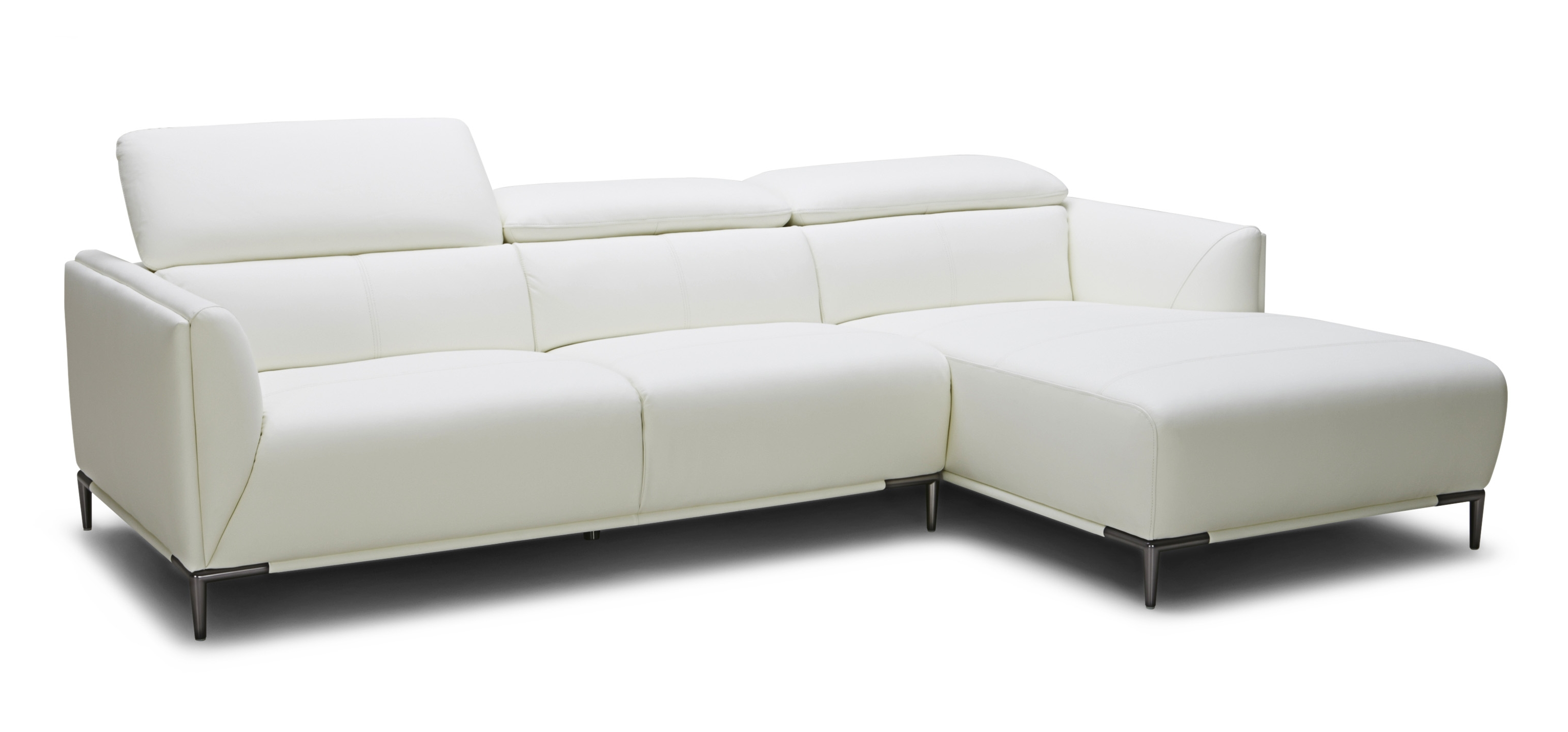 Dezign Furniture With Regard To Most Up To Date White Leather Chaise Lounges (View 3 of 15)