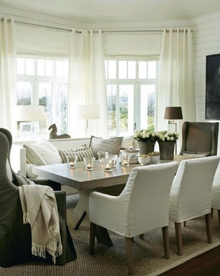 Dining Sofa Chairs For Famous Marvellous Dining Room Table With Sofa Seating Gallery Best Idea (View 6 of 10)