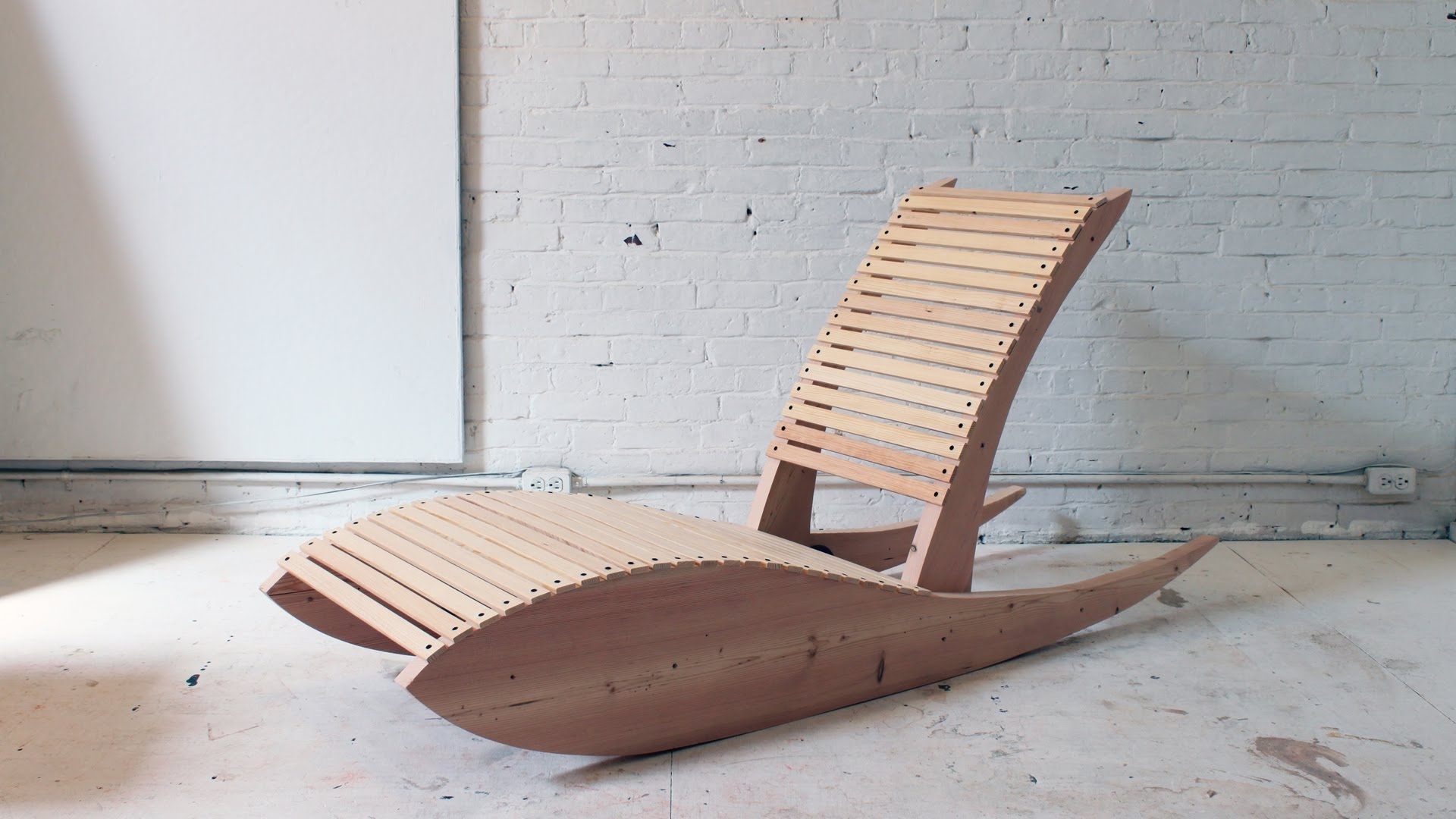 Diy Chaise Lounge Chairs For 2018 Diy Rocking Lounge Chair  (View 3 of 15)
