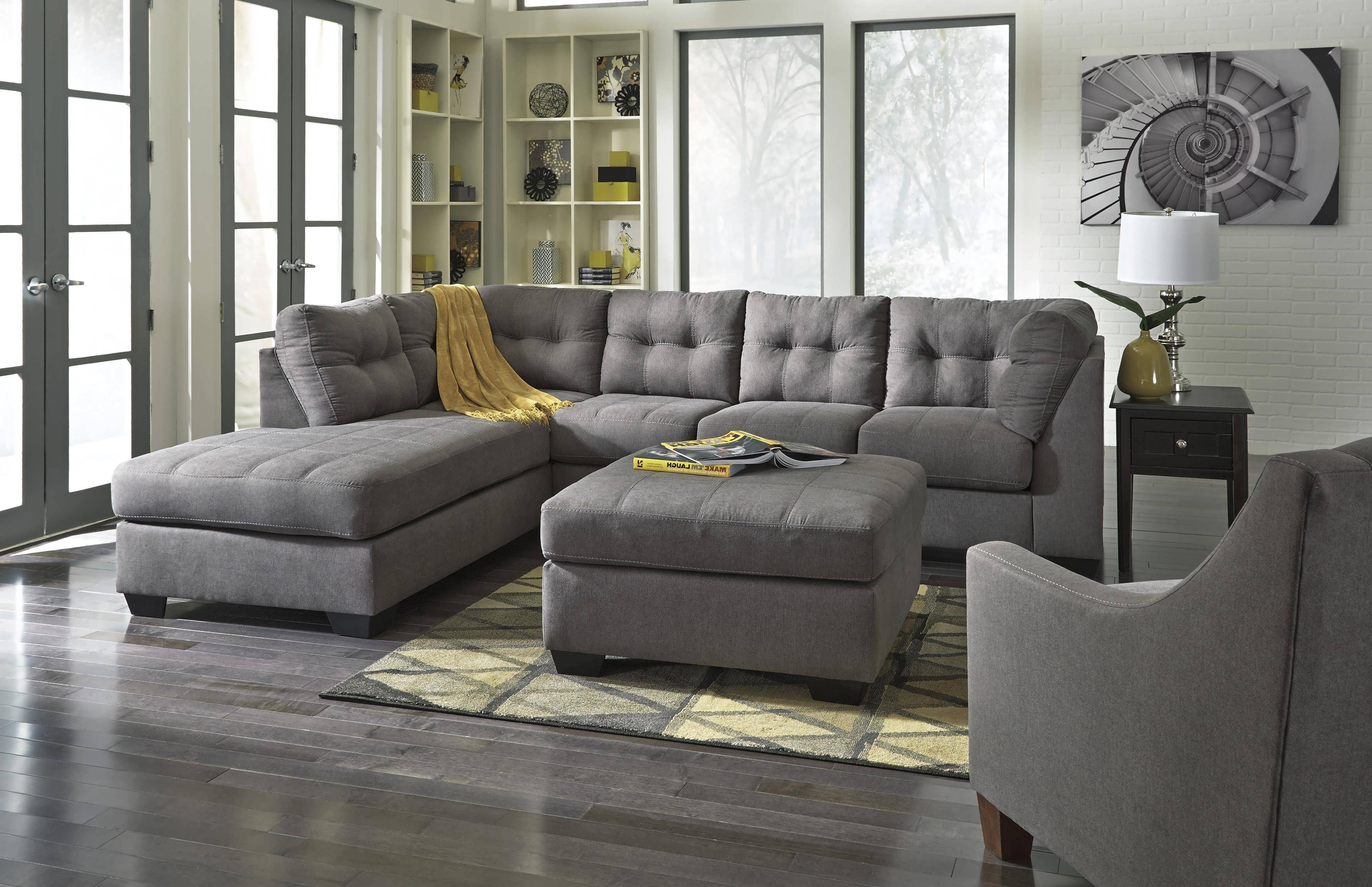 Double Chaise Sectionals Throughout Trendy Sofa : Gray Sectional L Shaped  Sofa White Sectional Sofa Double