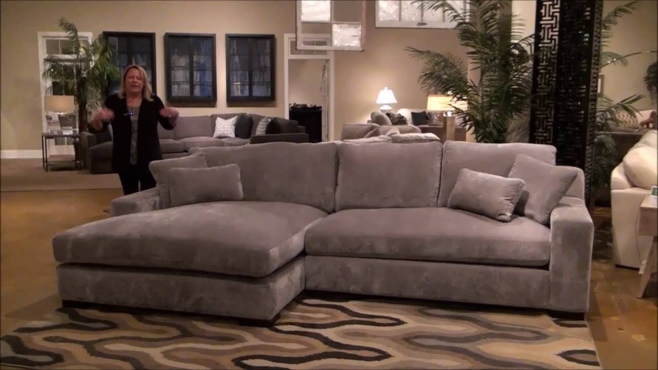Double Chaise Sectionals Within Newest Sofa : Grey Chaise Sofa Wrap Around Couch Sectional Sofa With (View 8 of 15)