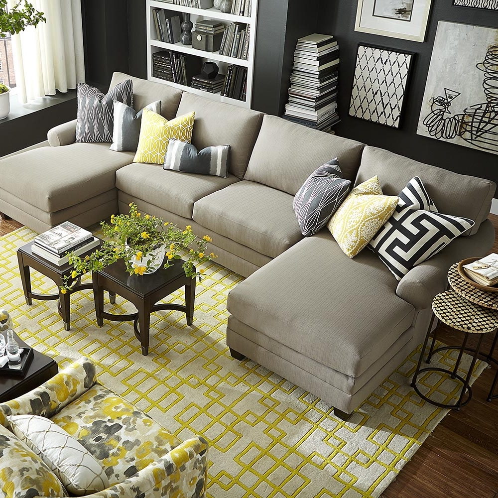 Featured Photo of Double Chaise Sofas