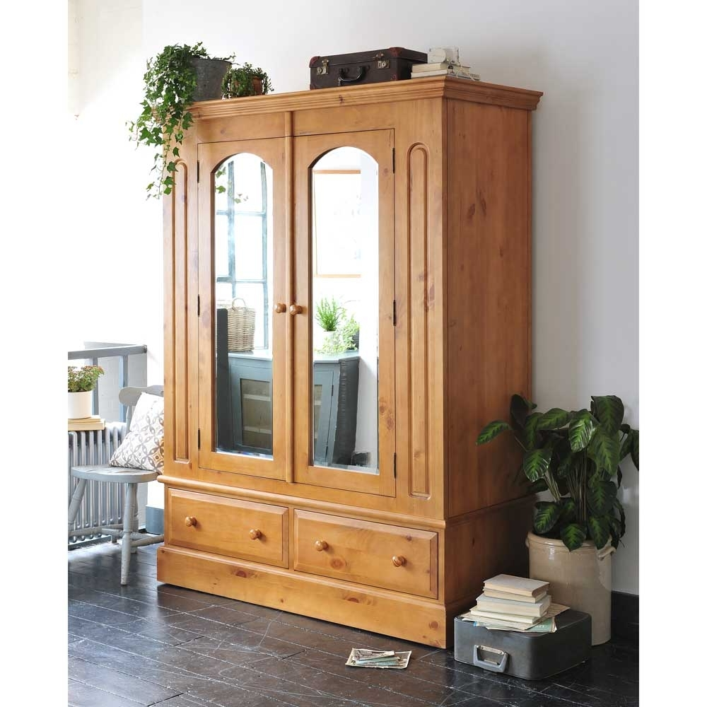Double Pine Wardrobes Throughout Newest Shop Online For Pine Wardrobe – Pickndecor (View 4 of 15)