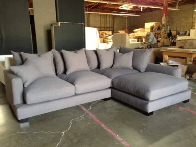 Down Feather Sectional Sofa (View 1 of 10)